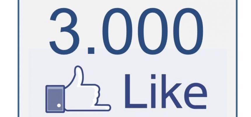 To już 3000 lajków na FB
