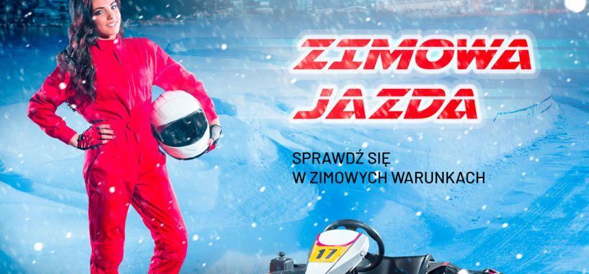 ZIMOWA JAZDA W SADKARTING !!!!!